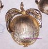 Sarah Coventry Adam's Delight Brooch & Earrrings Garden of Eden Apple Vintage Mid Century 1960s Designer Fashion Jewelry Gift