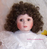 Victorian Styled Porcelain Doll by Beth Mullins for Franklin Heirloom Dolls / Mint Vintage Toy Gift