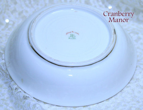 Antique Royal Crockery Nippon Japan Lotus & Bird Bowl Vintage 1910s Japanese Designer Gift
