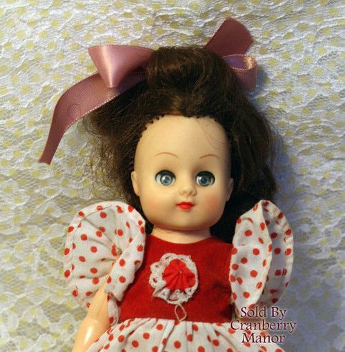 New Bright Sleepy Eyed Ginny Toy Doll from Hong Kong China Vintage Mid Century 1960s Chinese Designer Import Gift