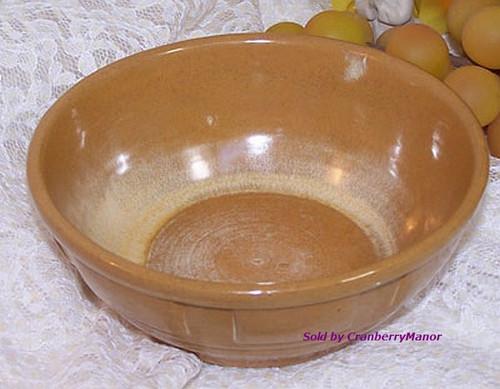 Frankoma Wagon Wheel Bowl Desert Gold Art Pottery Vintage Mid Century 1960s American Designer Gift