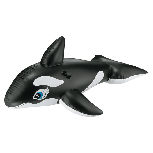 "Intex Whale Ride-On 76"" X 47"" Pool Toy"
