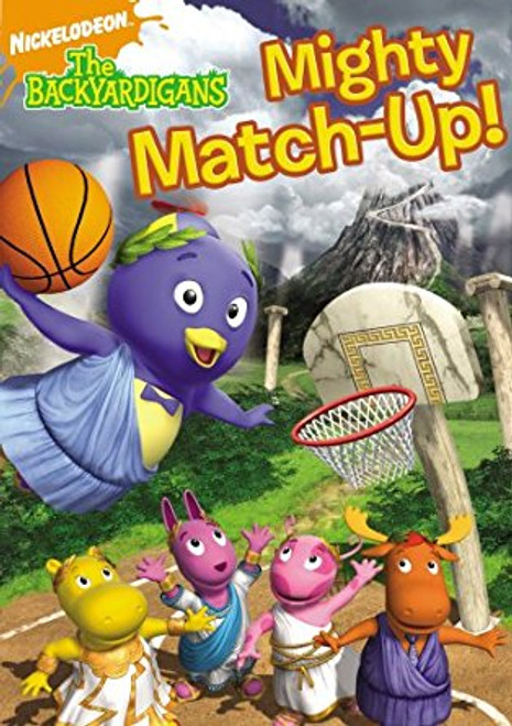 The Backyardigans: Mighty Match-Up, DVD