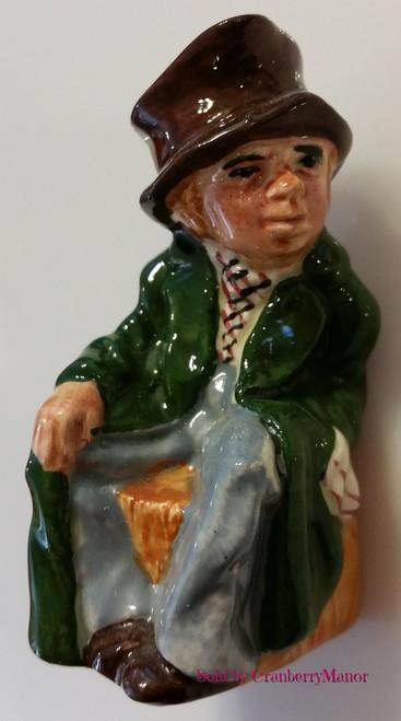 Artful Dodger Charles Dickens Oliver Twist Toby Jug by Artone England, Vintage Designer English Gift