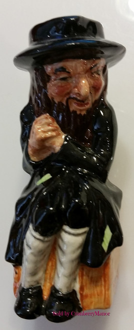 Fagin Charles Dickens Oliver Twist Toby Jug by Artone England, Vintage Designer English Gift