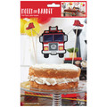 Molly and Bandit™ Pet Party - Cake Topper - Fireman Collection