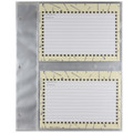 QP13 Pocket Page Refills - For QP13 Deluxe Kitchen Binder