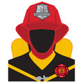 Molly and Bandit™ Pet Party - Head Photo Prop - Fireman Collection