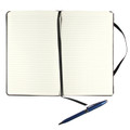"Markings® by C.R. Gibson -  Black Bonded Leather Journal - Ruled, 5"" x 8"""