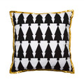 Large Decorative Pillow - Reindeer w/ Trees
