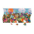 Triptych 3-in-1 Panoramic Puzzle - Butterfly Garden