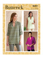 Butterick B6801 (Digital) | Misses' & Women's Tucked Or Gathered Top