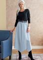 Butterick B6798 | Misses' & Misses' Petite Gathered-Waist Skirt