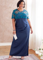 Butterick B6783 (Digital) | Women's Dress In C/D, DD Cup Sizes