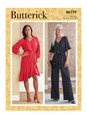 Butterick B6779 | Misses' Dress, Jumpsuit & Sash