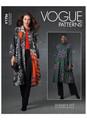 Vogue Patterns V1756 | Misses' Duster