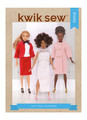 "Kwik Sew K4341 | 11½"" Doll Clothes"