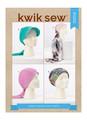 Kwik Sew K4332   Head Wraps & Hats