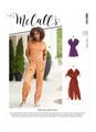 McCall's M8154   Misses' Rompers, Jumpsuits & Belt
