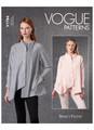 Vogue Patterns V1784 | Misses' Shirts