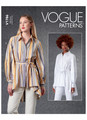 Vogue Patterns V1786 | Misses' Shirts & Belt