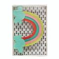 Felt Collar Slide - Rainbow Vibes