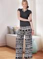 Butterick B6851   Misses' No-Side-Seam Shorts, Capris & Pants