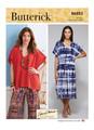Butterick B6853 | Misses' V-Neck Pullover Tunic & Dresses