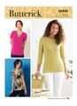 Butterick B6848 (Digital) | Misses' T-Shirts & Tank Top