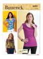 Butterick B6847 | Misses' Cowl-Neck Tops