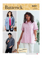 Butterick B6841 | Unisex Button-Down Shirts