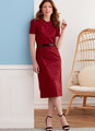 Butterick B6849   Misses' Fit Pattern Dresses & Optional Collar