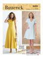 Butterick B6850 (Digital)   Misses' Jewel or V-Neck Fit & Flare Dresses
