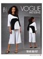 Vogue Patterns V1804 | Misses' Tunic & Pants