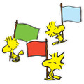 Peanuts® Woodstock Assorted Paper Cut Outs