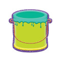 Color My World Buckets Assorted Paper Cut Outs