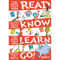 """Dr. Seuss™ The More you Read Poster 13""""x19"""""""