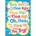 """Dr. Seuss™ Think Left Think Right 13""""x19"""""""