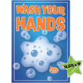 """Wash Your Hands Poster 13"""" x 19"""""""
