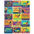 Plaid Attitude Success Stickers