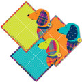 Plaid Attitude Dogs Paper Cut Outs