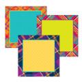 Plaid Attitude Squares Paper Cut Outs