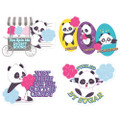 Jumbo Scented Stickers - Cotton Candy