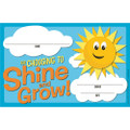 Growth Mindset Choosing to Shine & Grow Recognition Award