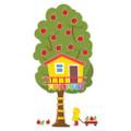 A Teachable Town Large Seasonal Tree House Bulletin Board Set
