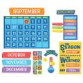 A Teachable Town Calendar Bulletin Board Set