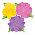 A Teachable Town Flowers Paper Cut-Outs