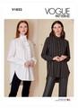 Vogue Patterns V1823 | Misses' and Misses' Petite Shirt