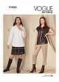 Vogue Patterns V1833 | Misses' Top, Skirt and Pants