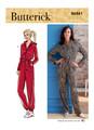 Butterick B6861   Misses' Jumpsuit, Sash and Belt
